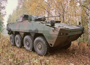 Patria Armoured Modular Vehicle