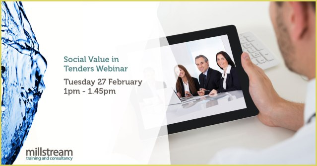 Millstream Social Value Webinar