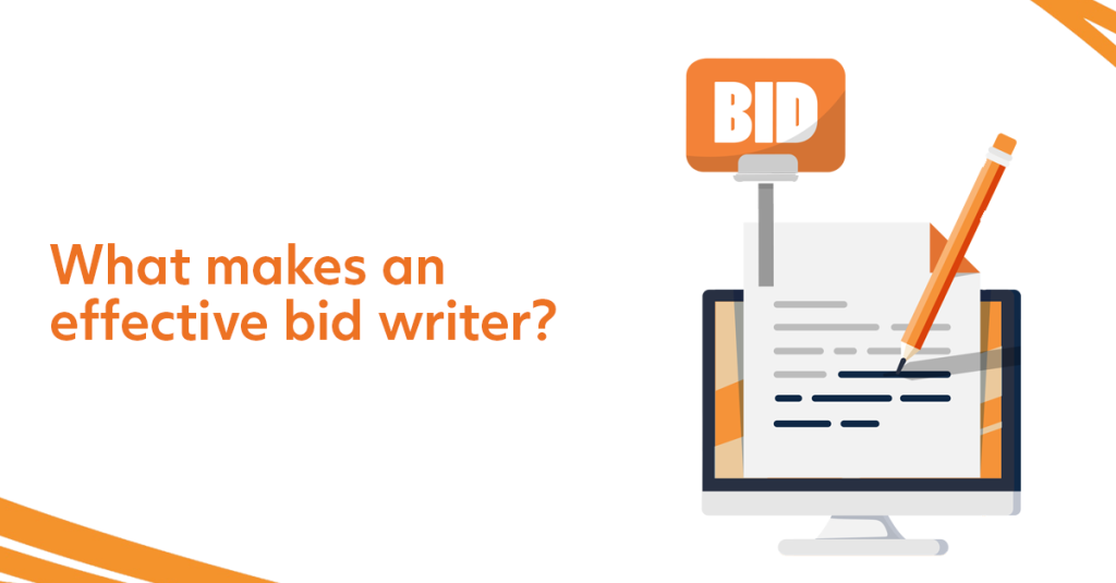 What makes an effective bid writer?